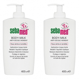 SEBAMED LAIT CORPS ANTI-DESSECHEMENT 2X400ML