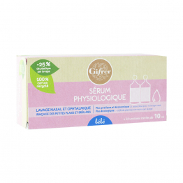SERUM PHYSIOLOGIQUE BEBE 24X10ML PHYSIOLOGICA GIFRER