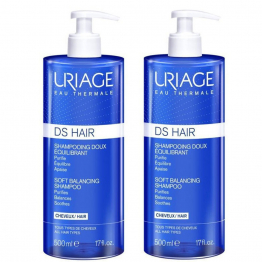 Shampooing Doux Equilibrant 2x500ml D.S Hair Uriage