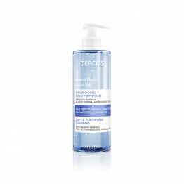 SHAMPOOING DOUX FORTIFIANT MINERAL 400ML DERCOS VICHY