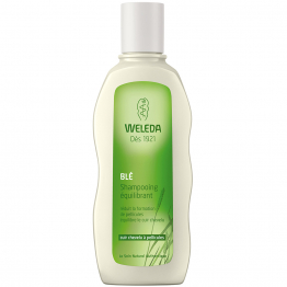 SHAMPOOING EQUILIBRANT BLE CUIRS CHEVELUS A PELLICULES 190ML WELEDA