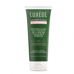 SHAMPOOING LISSANT 200ML CHEVEUX REBELLES & ONDULES LUXEOL