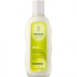 SHAMPOOING MILLET USAGE FREQUENT POUR TOUTE LA FAMILLE 190ML WELEDA