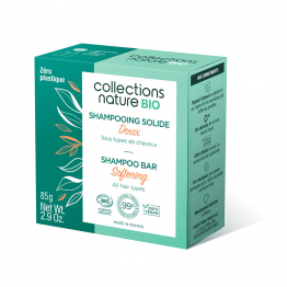 Shampooing Solide Doux 85g Collections Nature Bio Collections Nature