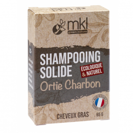 SHAMPOOING SOLIDE ORTIES CHARBON CHEVEUX GRAS 65GR