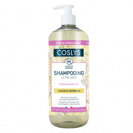 Shampooing ultra doux bio 1L Cheveux normaux Coslys