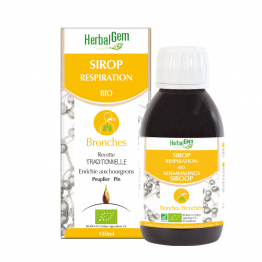 Sirop Respiration Bio Bronches 150ml Herbalgem