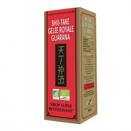 Sirop Super Revitalisant 200ml Shii Take Gelee Royale Guarana Redon