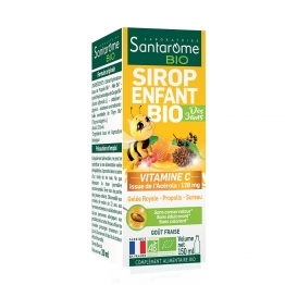 SIROP VITAMINE C ENFANTS BIO 150ML ACEROLA SANTAROME