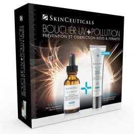 SKINCEUTICALS COFFRET BOUCLIER UV POLLUTION C E FERULIC 30ML + ULTRA FACIAL SPF50+ OFFERT