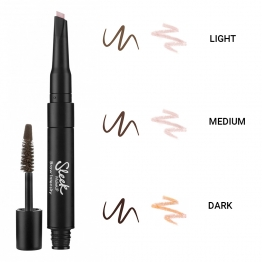 SLEEK MAKEUP BROW INTENSITY DUO SOURCILS 15ML