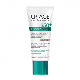 Soin Global Teinte Universelle Spf50+ 3-regul 40ml Hyseac Uriage