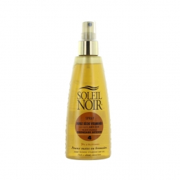 SOLEIL NOIR N°44 SPRAY HUILE SECHE VITAMINEE BRONZAGE INTENSE SPF4 150ML