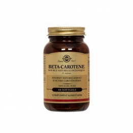 SOLGAR BETA CAROTENE 60 SOFTGELS