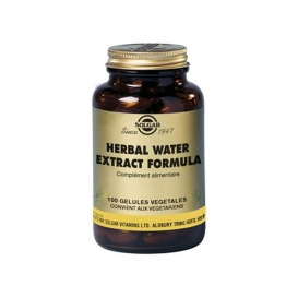 SOLGAR HERBAL WATER EXTRACT FORMULA 100 GELULES VEGETALES