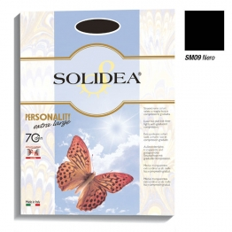 SOLIDEA PERSONALITY 70 DEN EXTRA-LARGE NERO