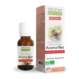 SOLUTION BIO CONCENTREE 20ML AROMA'NET PROPOS'NATURE