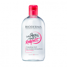 SOLUTION MICELLAIRE 500ML CREALINE EDITION COLLECTOR RESPECT BIODERMA