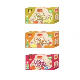 VITABIO COOL FRUITS ENFANTS COMPOTES EN GOURDE 12X90G