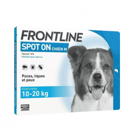 Spot-on Chien de 10-20kg 6 Pipettes de 1,34ml Frontline