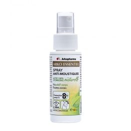 ARKOPHARMA ESSENTIEL SPRAY ANTI-MOUSTIQUES CORPS 60ML