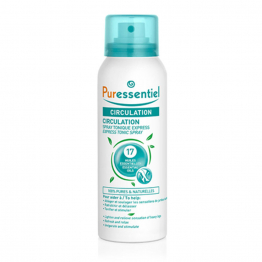 SPRAY EXPRESS TONIQUE AUX 17 HUILES ESSENTIELLES 100ML CIRCULATION PURESSENTIEL