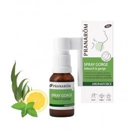 SPRAY GORGE BIO 15ML AROMAFORCE PRANARÔM
