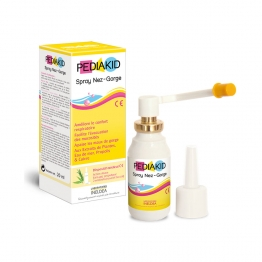 SPRAY NEZ ET GORGE 20ML PEDIAKID