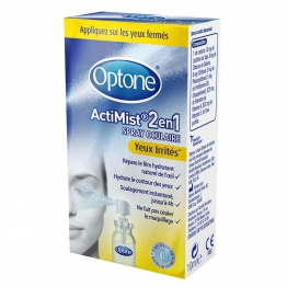 SPRAY OCULAIRE ACTIMIST 2EN1 YEUX IRRITES 10ML OPTONE