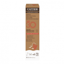 SPRAY PROTECTION SOLAIRE SPF30 125ML CATTIER