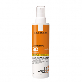 SPRAY SOLAIRE INVISIBLE ULTRA RESISTANT SPF30 200ML ANTHELIOS LA ROCHE POSAY