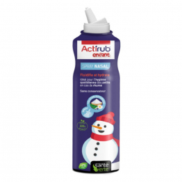 Spray nasal Enfant 120ml ActiRub Solution isotonique à l'eaux florales Sante Verte