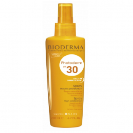 Spray solaire protection Spf30 200ml Photoderm Bioderma