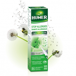 Stop allergie Rhinite allergique 20ml Spray nasal Humer