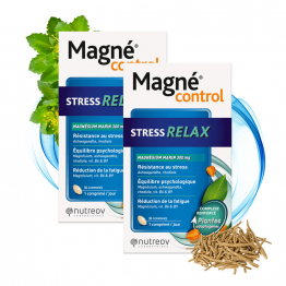 STRESS RELAX 2X30 COMPRIMES MAGNE CONTROL NUTREOV