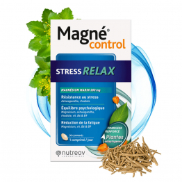STRESS RELAX 30 COMPRIMES MAGNE CONTROL NUTREOV