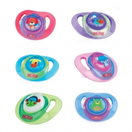 SUCETTE ORTHODONTIQUE 6-36 MOIS ANIMAL NUBY