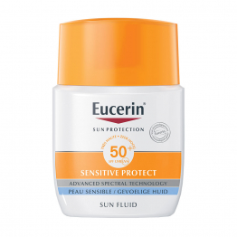 Sun Sensitive Protect Fluide Visage Spf50 50ml Eucerin