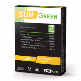 Sungreen 30 gélules Synactifs