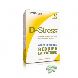 SYNERGIA D STRESS 80 COMPRIMES
