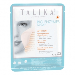 TALIKA BIO ENZYMES MASK AFTER SUN MASQUE APRES SOLEIL SECONDE PEAU 20G