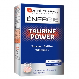 FORTE PHARMA ENERGIE TAURINE POWER 30 COMPRIMES EFFERVESCENTS
