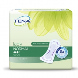 TENA LADY NORMAL SERVIETTES x24