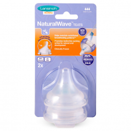 TETINE NATURAL WAVE DEBIT RAPIDE LANSINOH