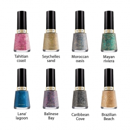 REVLON PEBBLED TEXTURE VERNIS A ONGLE + BASE COAT