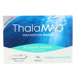 Plasma Marin 20 Ampoules Ressourcant Thalamag Iprad