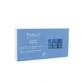 THALGO SOURCE MARINE CONCENTRE D'HYDRATATION ABSOLUE 7 X 1.2ML