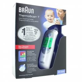 BRAUN THERMOSCAN 7 THERMOMETRE AURICULAIRE IRT6520