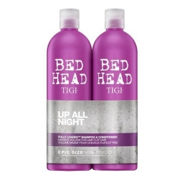 TIGI BED HEAD TWEEN DUO FULLY LOADED SHAMPOOING + CONDITIONER APRES-SHAMPOOING POUR CHEVEUX PLATS ET FINS 2X750ML