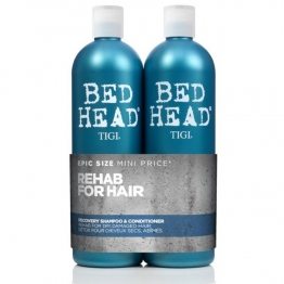 TIGI BED HEAD TWEEN DUO RECOVERY LEVEL 2 SHAMPOOING + CONDITIONER APRES-SHAMPOOING HYDRATANT POUR CHEVELURES SECHES ET ENDOMMAGEES 2X750ML